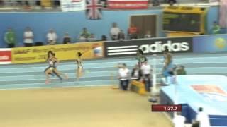 800м Финал Женщины - ЧМ в помещении Стамбул 2012