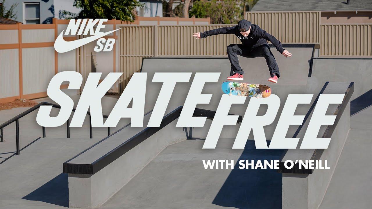 Skate Free | Shane O'Neill Reveals His Los Angeles House & Skate Park | Nike SB - YouTube
