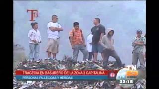 Tragedia en basurero de la zona 3 capitalina, personas fallecidas y heridas