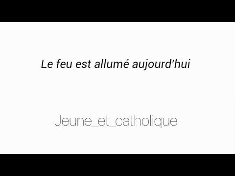 chant catholique (louange) :