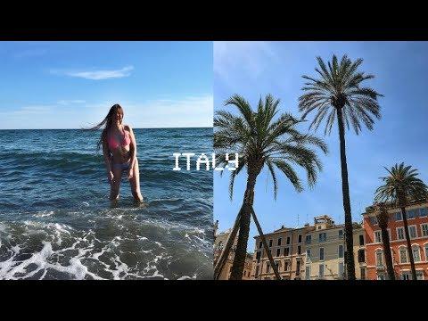 ITALY♡ дикий пляж, извращенцы в поезде, фотосессия в купальнике, восторг и счастье  | NASTYA SMI