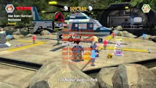 lego jurassic world unlock code for jurassic park driver