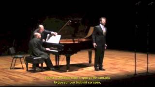An die ferne Geliebte (L.v.Beethoven) -  Gerardo Garcíacano/Silvano Zabeo │Ars Vocalis México 2011