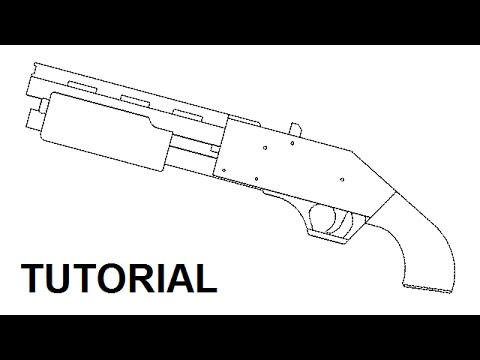 Pump Action Rubber Band Shotgun 5 Plans And Tutorial Youtube
