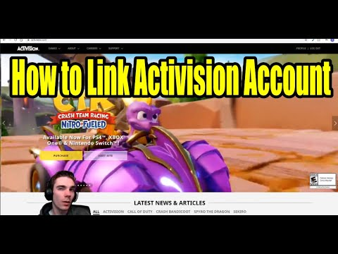 How To Link Activision Account