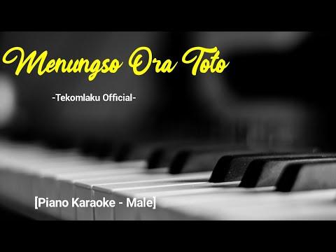 menungso-ora-toto---tekomlaku-official-[akustik-karaoke]-male-key