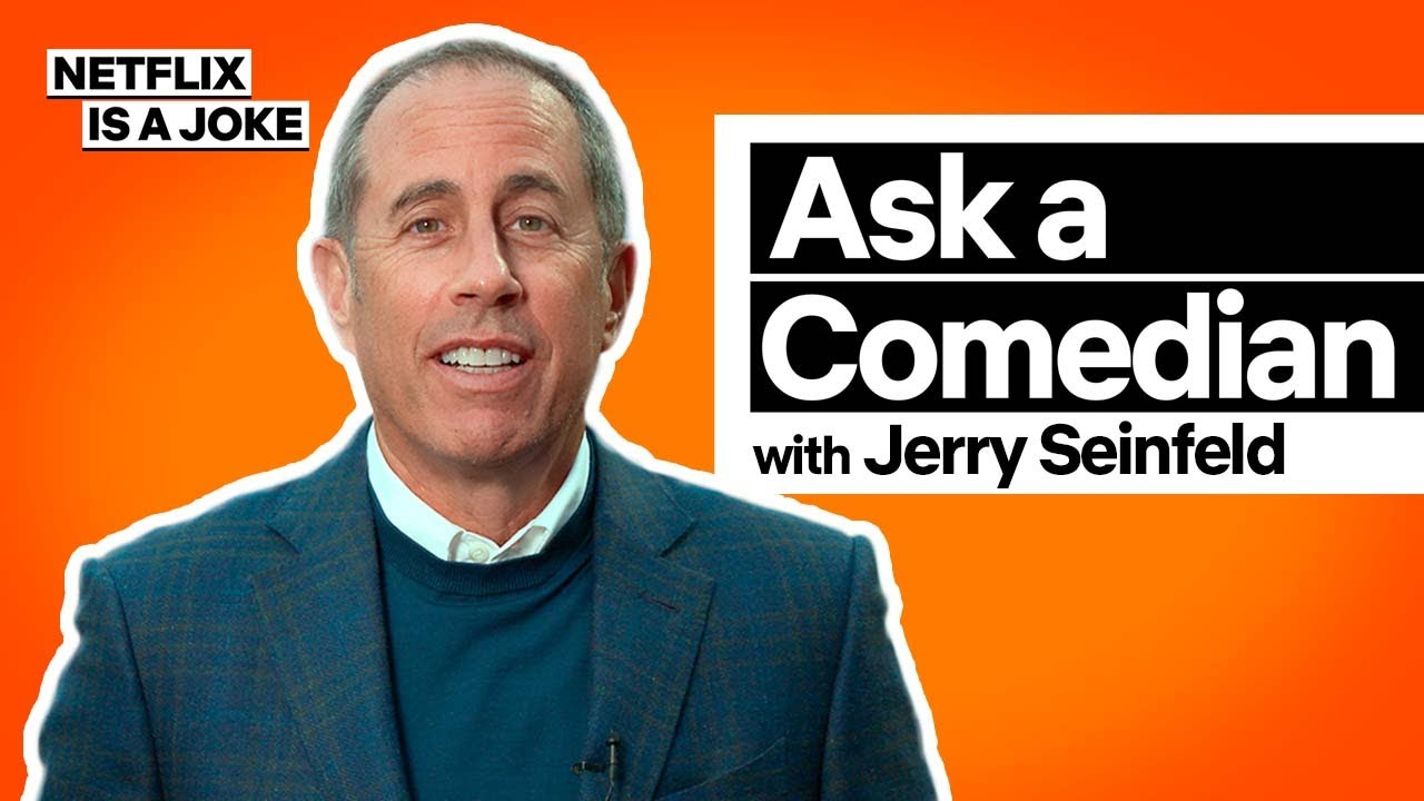Ask a Comedian: Jerry Seinfeld