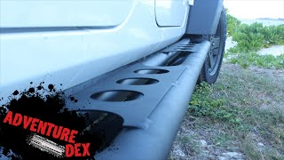 Jeep Wrangler Rock Sliders Installation by RazerAuto