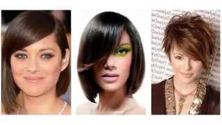 Kratke asimetrične frizure