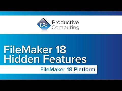 Filemaker 18 update