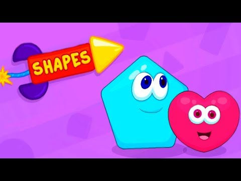 Learning Shapes Cheerful And Cognitive Game For Kids and Toddlers