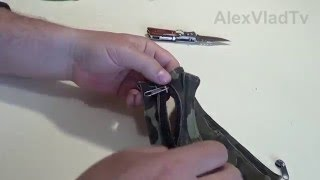 Ремонт молнии. Как отремонтировать молнию без выпарывания и замены.