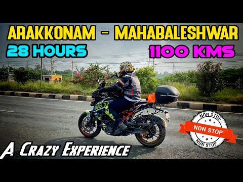 Day 1 - Arakkonam To Mahabaleshwar | 1100 KMS In 28 Hrs | Sleepless☹️ | Drone Shots| Enowaytion Plus