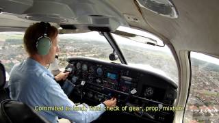 Landing at RAF Woodvale (EGOW) in a PA 32R (Piper Saratoga)