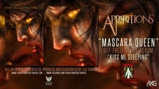 "Apparitions - Mascara Queen (ft. artwork by ""The Walking Dead"" artist, Jed Thomas)"