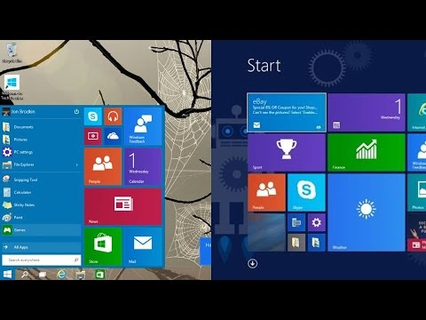 How To Switch To The Start Screen (Metro UI) In Windows 10