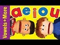 The Vowel Song + More! | 20 Min Collection | A E I O U | ESL for Kids |  Fun Kids English