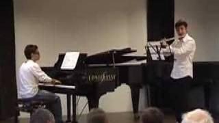 Ah! So pure from Martha -  Flote & Piano Luca Atzei Caorle