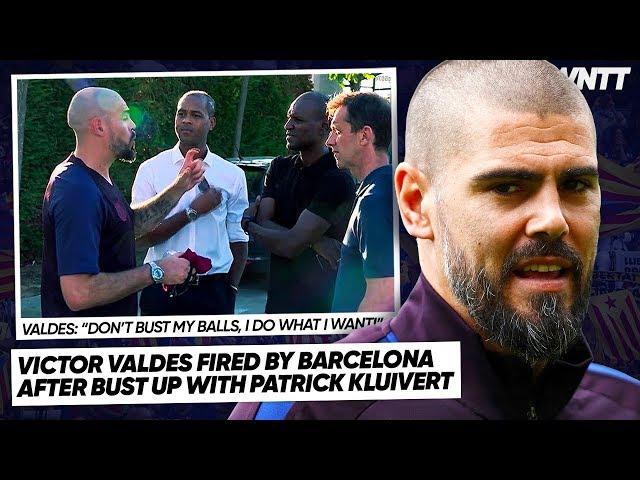 BARCELONA CLUB LEGEND SACKED FOR SHOCKING BEHAVIOUR!   #WNTT