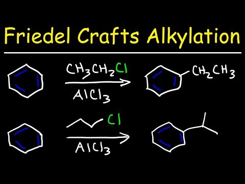 Friedel-Crafts acylation | Aromatic Compounds | Organic chemistry