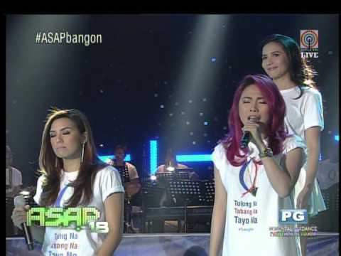 'ASAP' offers opening number to 'Yolanda' survivors