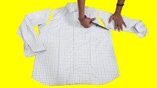 New Idea From Old Shirt // Shirt Re Use Idea // Transformation Idea // By Hand made Ideas