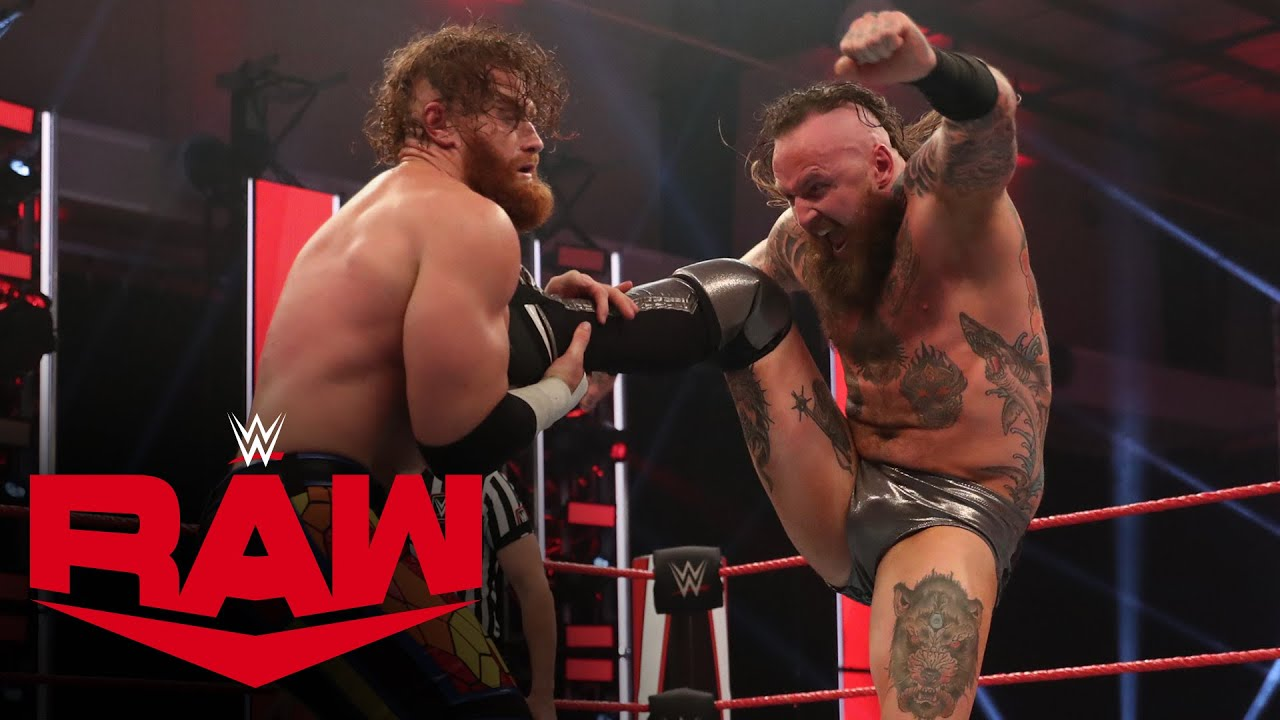 Aleister Black vs. Murphy: Raw, May 18, 2020
