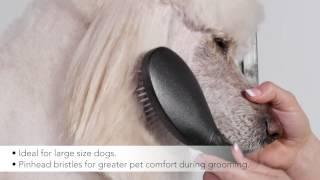 Andis Premium Pet Grooming Tools - Large Pin Brush, 80590