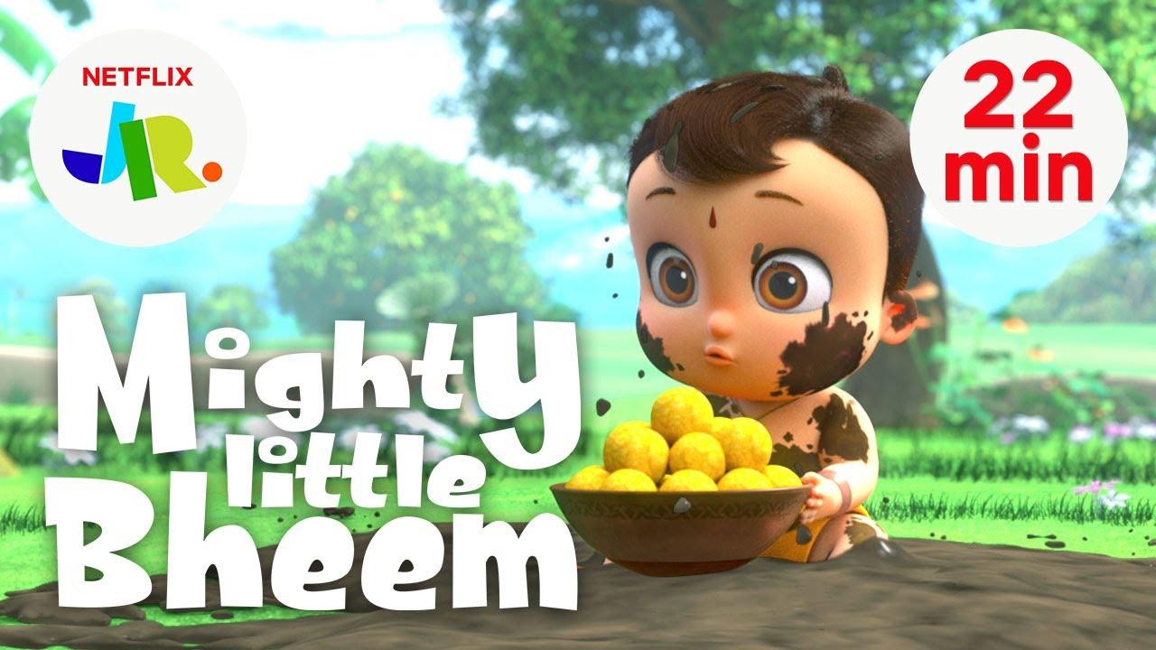 Download Mighty Little Bheem FULL EPISODES 9-12 💪 Season 1 Compilation 💪 Netflix Jr