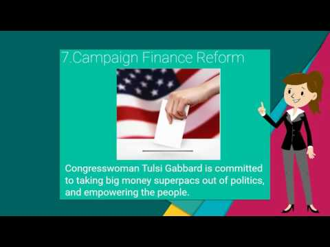 Policies made By Tulsi Gabbard - US House of Representative for Hawaii 2nd District