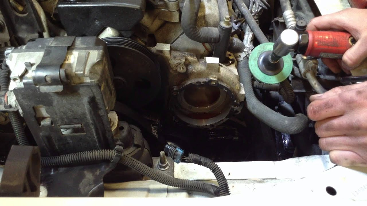 2003 Chevy Malibu Water Pump 3 1 Youtube