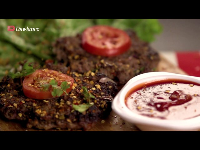 Get Set Cook with Dawlance Airfryer Microwave Oven –Chapli kabab Recipe