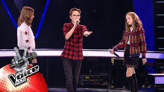 Download Anaïs, Ebe & Lola - '...Baby One More Time' | The Battles | The Voice Kids | VTM Mp3 and Videos