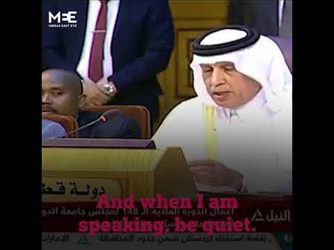 Saudi vs Qatar at the Arab League