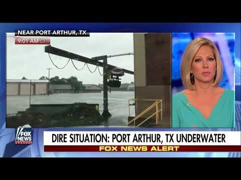 Port Arthur, Texas Is Underwater