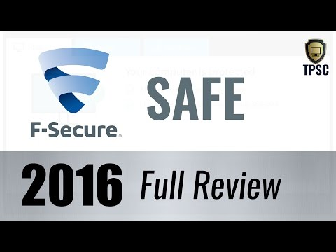 F Secure Safe (Internet Security) 2016 Review