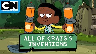 All of Craig's Inventions | Craig of the Creek | Cartoon Network