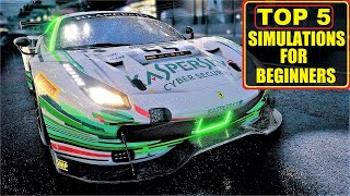 TOP 5 - Bęst Racing Simulations for Beginners