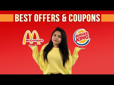 Khao Aur Khilao - McDonald's & Burger King Latest Coupons & Offers   Online Food Offers