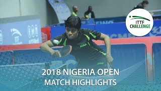 Akula Sreeja vs Helmy Yousra | 2018 Nigeria Open Highlights (R32)