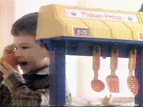 Fisher Price Kitchen Commercial 1991