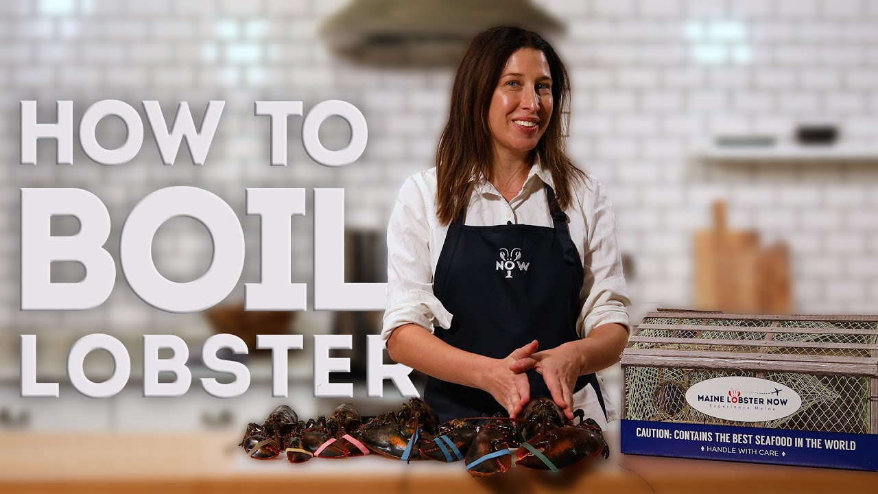 How To Steam Live Lobster