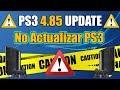 Actualización Firmware 4.83 en PS3: parchea PS3Xploit ...