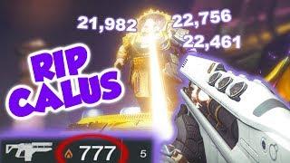 Merciless Ammo Glitch vs Calus [Destiny 2] **INSANE DAMAGE**