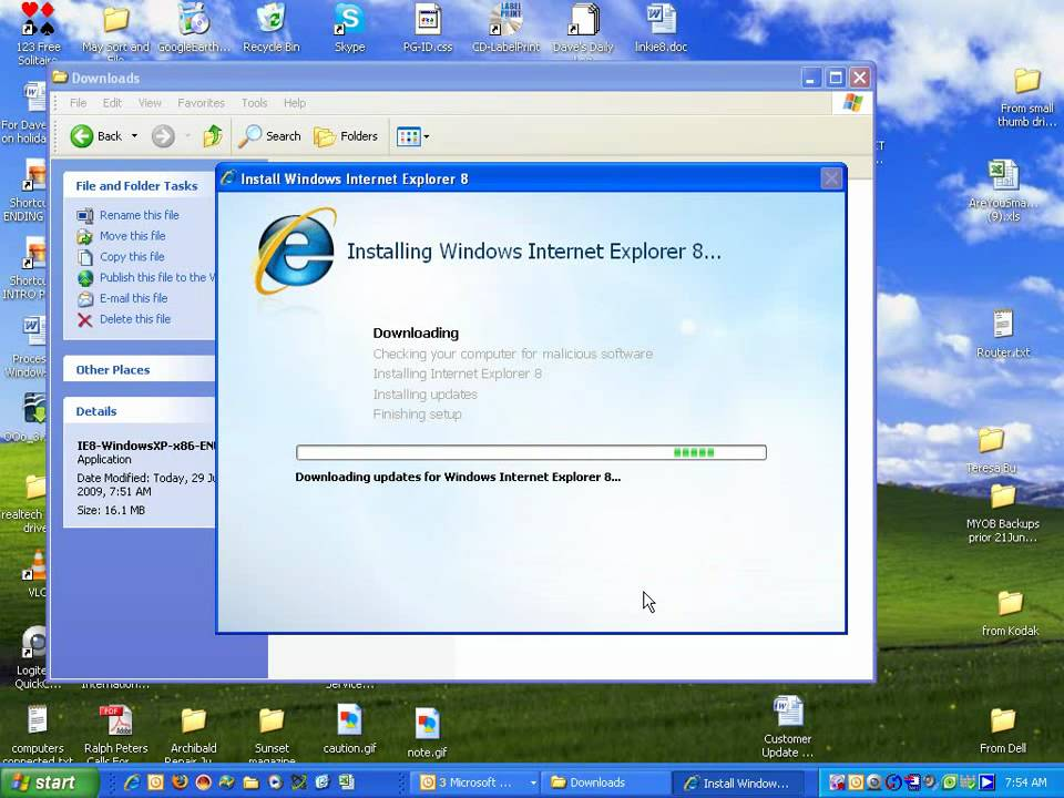 explorer 8 free download for windows 7