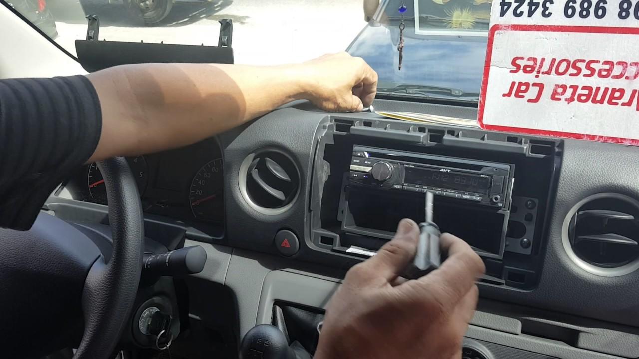 aca nissan urvan nv350 stereo panel removal [ 1280 x 720 Pixel ]