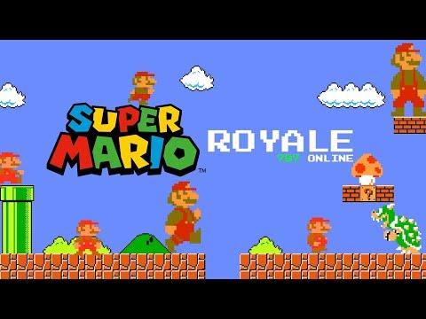 Super Mario Battle Royale Online Game! 99 Players 1 Winner! More Fun Than Fortnite!