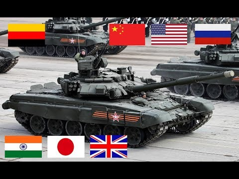 Top 10 Most Powerful Modern Tanks In The World 2019