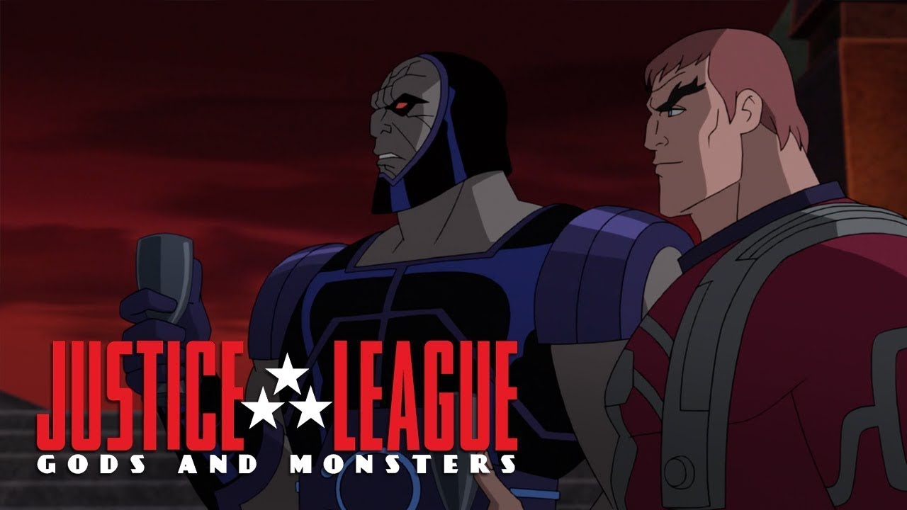 Download Wonder Woman marries Orion, the son of Darkseid | Justice League: Gods And Monsters