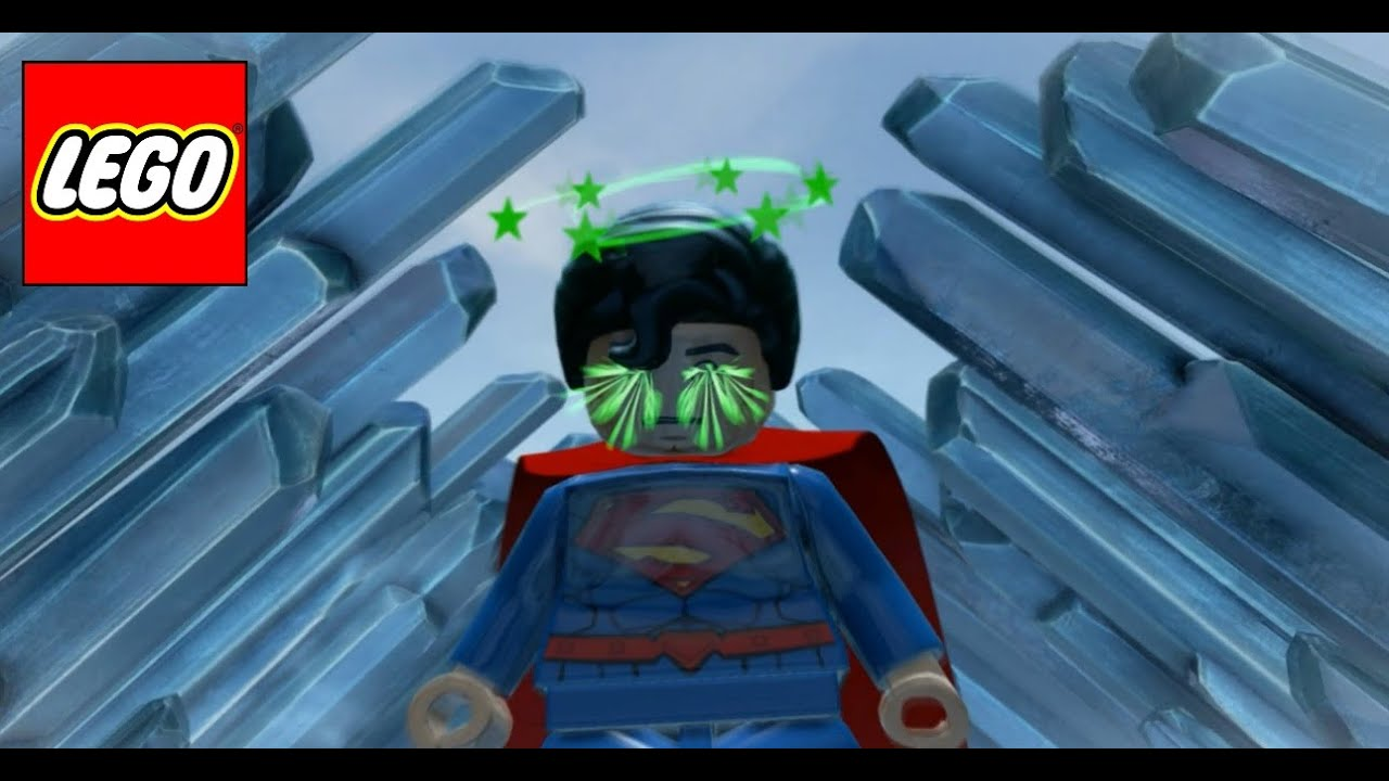 Lego batman 3 beyond gotham 22 superman gigante - Piezas lego gigantes ...